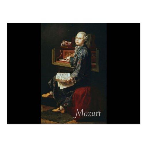 Mozart Tarjetas Postales