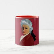 Mozart Two-Tone Coffee Mug
