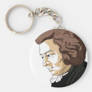 Mozart (Wolfgang Amadeus Mozart) Keychain