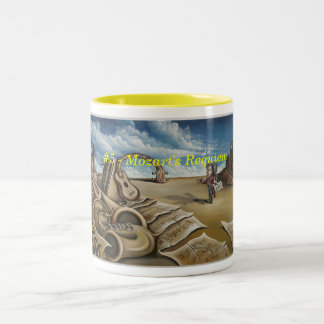 Mozart's Requiem Two-Tone Coffee Mug