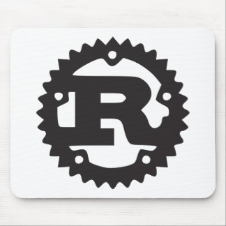 Mozilla Rust Mousepad