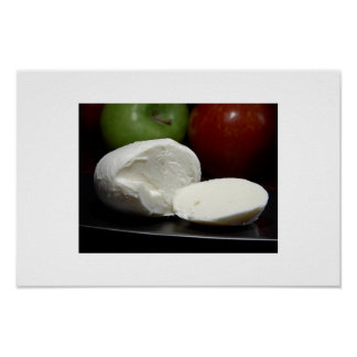 Mozzarella Cheese Poster