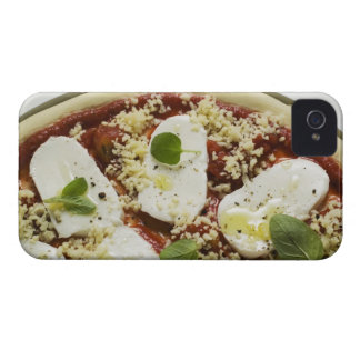 Mozzarella pizza (unbaked) iPhone 4 case