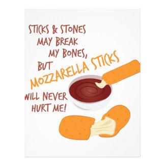 Mozzarella Sticks Letterhead