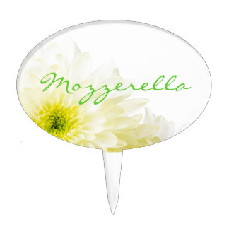 Mozzerella Cheese Cake Topper