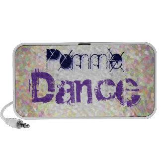 MP3 altavoz - danza de Pommie