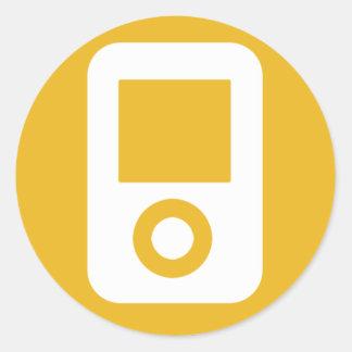 MP3 Icon Sticker