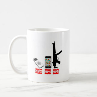 MP3 MP4 MP5 COFFEE MUG