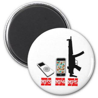 MP3 MP4 MP5 IMANES DE NEVERA
