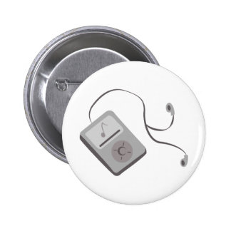 MP3 Player 2 Inch Round Button