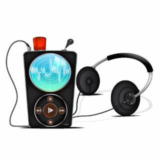 MP3 Player Acrylic Cut Out