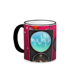 MP3 Player Ringer Mug