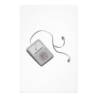 MP3 Player Stationery