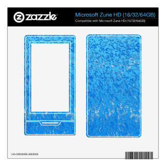 MP3 Players Skin Grunge Art Abstract Decals For The Zune HD