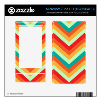 MP3 Players Skin Zig Zag Skins For The Zune HD