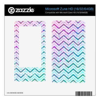 MP3 Players Skin Zig Zag Decals For Zune HD