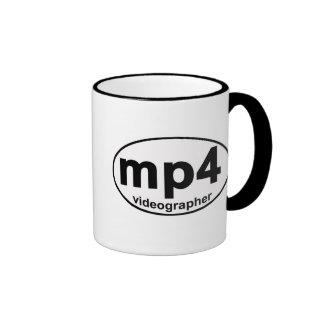 MP4 Videographer coffee mug