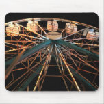 MP 0611 Ferris Wheel Watercolor Style Mouse Mat
