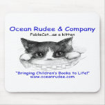 MP - Check it out!  FableCat... as a kitten on a Mousepad
