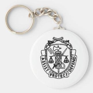 mp crest key chain