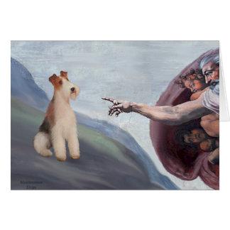 MP-God's Wire Fox Terrier (M) Card