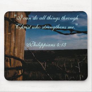 MP - Philippians 4:13 Mouse Pads
