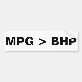 MPG > BHP PEGATINA PARA AUTO
