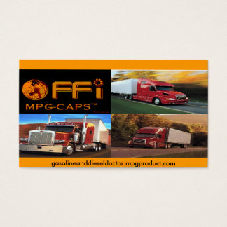 MPG CAP PRODUCT CARD - Customized