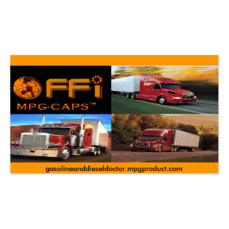 MPG CAP PRODUCT CARD - Customized Double-Sided Standard Business Cards (Pack Of 100)