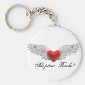 MPj04387260000[1], Adoption Rocks! Basic Round Button Keychain
