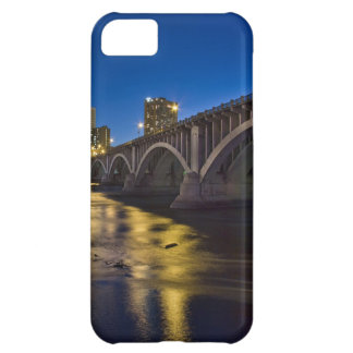 Mpls Skyline 3rd Ave Bridge Night view iPhone 5C Covers