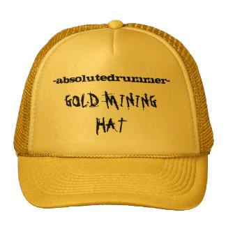 """MPM/ABD- """"GOLD MINING HAT"""" TRUCKER HAT"""