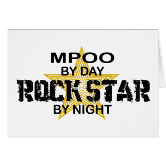 MPOO Rock Star by Night Cards