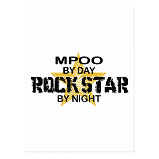 MPOO Rock Star by Night Postcard
