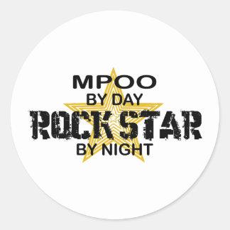 MPOO Rock Star by Night Stickers
