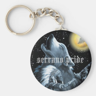 mpp0321-wolf-moonwolf-moon-native-american-post... basic round button keychain