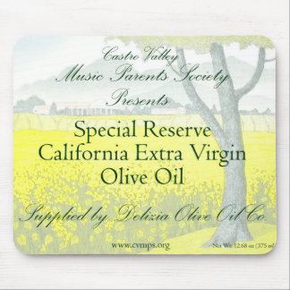 MPS Private Label Extra Virgin Olive Oil Mouse Pads