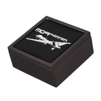 MQ-9 Reaper Magnetic Wooden Gift Box