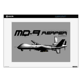 """MQ-9 Reaper Decals For 15"""" Laptops"""