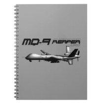 MQ-9 Reaper Spiral Notebook