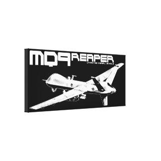 MQ-9 Reaper Wrapped Canvas