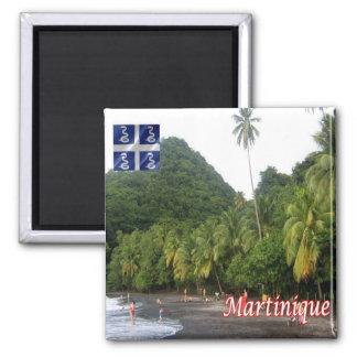 MQ - Martinique - Anse Céron-The Black Sand Beach Magnet