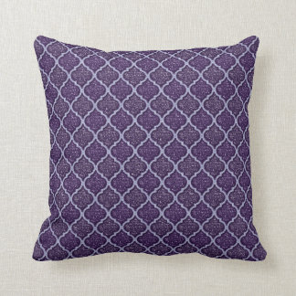 MQF Sequins-2 Toned Purple-Sq PILLOW