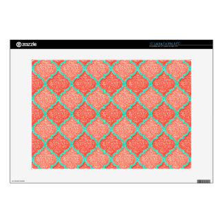 MQF Sequins-Tangerine-Mint-15in Laptop Skin