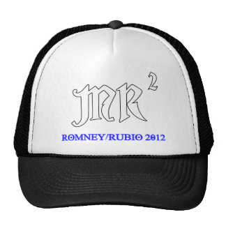 MR2 Romney Rubio 2012.png Trucker Hat