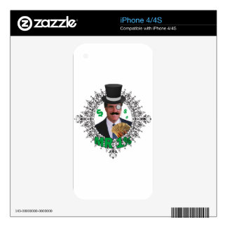 MR 1% DECALS FOR iPhone 4S
