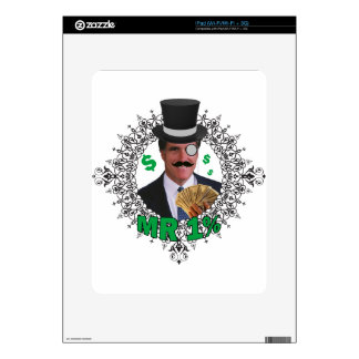 MR 1% SKINS FOR THE iPad