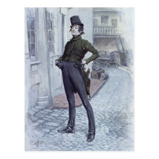 Mr. Alfred Jingle Postcard