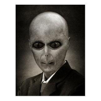 Mr Alien Postcard