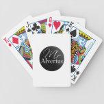 Mr. Alverius Logo Playing Cards